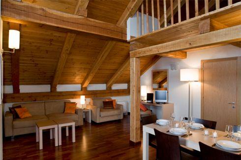 Residence cianfuran bardonecchia appartamenti mansardati for Immagini di appartamenti moderni