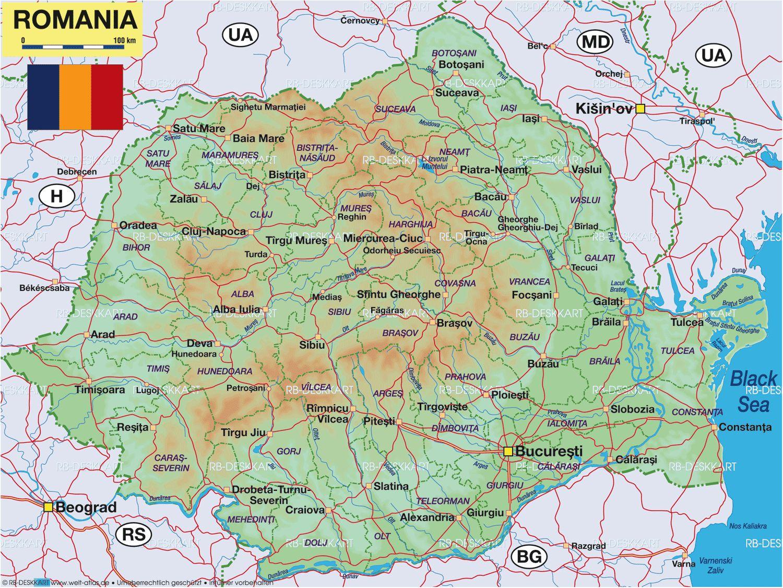 Cartina Aeroporti Romania.Tours Della Romania Partenze Gararatite In Liggua Italiana