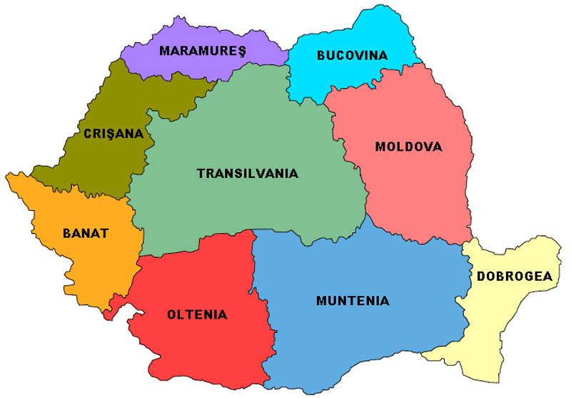 Romania Cartina Stradale.Miniguida Della Romania La Storia Il Clima Le Regioni Le Citta Hotels Visite Guidate E Tours Con Partenze Garantite In Italiano
