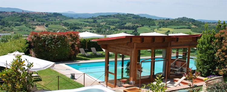 Umbria argiturismo le torri di porsenna country house agriturismo con centro benessere a - Agriturismo piscina interna riscaldata ...